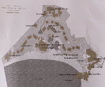 Park Hyatt St. Kitts Christophe Harbour Resort Map Layout