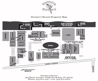 Parmer's Resort Map Layout