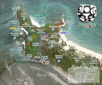 Paya Bay Resort Map Layout