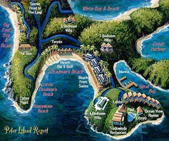 Peter Island Resort Map Layout