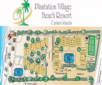 Plantation Village Beach Resort Map Layout