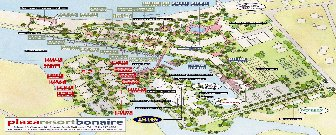 Plaza Resort Bonaire Resort Map Layout