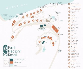 Point Pleasant Resort by Akers Ellis Map Layout