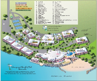 Pompano Beach Club Resort Map Layout