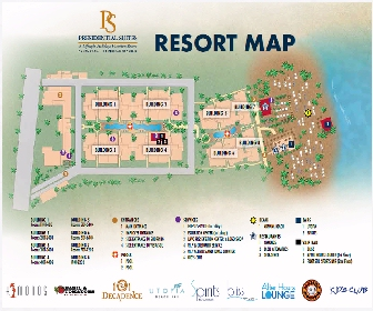 Presidential Suites Punta Cana Resort Map Layout