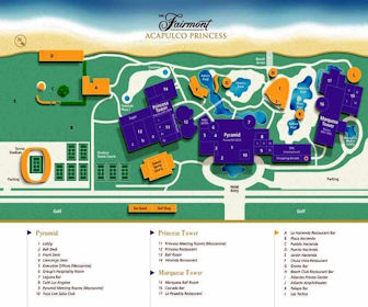 Princess Mundo Imperial Resort Map Layout