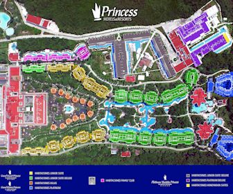 Grand Sunset Princess Resort Map Layout
