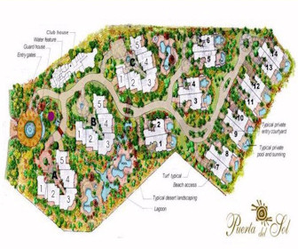 Puerta del Sol Resort Map Layout