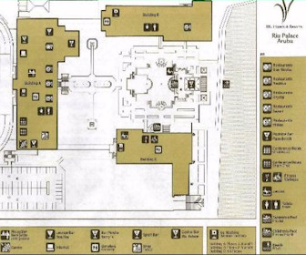 Riu Palace Aruba Resort Map Layout