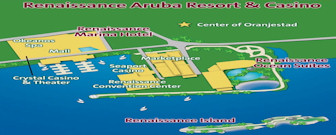 Renaissance Aruba Resort Map layout
