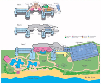 Wyndham Grand Rio Mar Beach Resort & Spa Map Layout