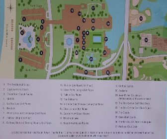 The Ritz Carlton Resort Map Layout
