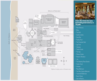 Ritz-Carlton Naples Map Layout