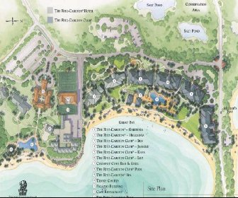 The Ritz-Carlton St.Thomas Resort Map Layout