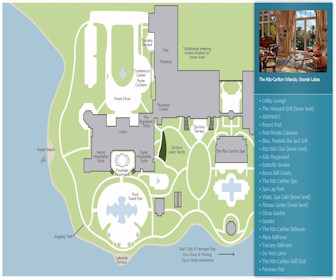 Ritz-Carlton Orlando Map Layout