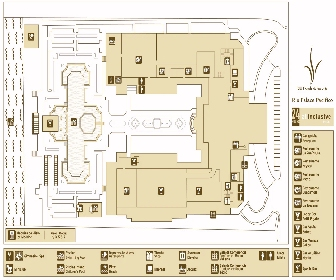 RIU Palace Pacifico Resort Map Layout