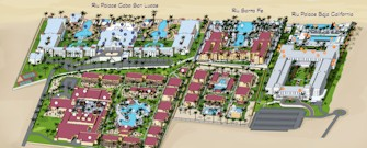 Riu Resort Los Cabos Map Layout