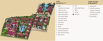 Riu Santa Fe Resort Map Layout