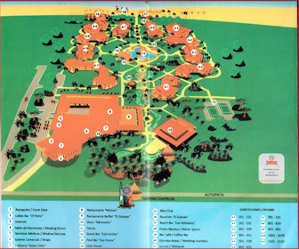 Roc Arenas Doradas Resort Map Layout