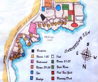 Rockhouse Hotel Map Layout