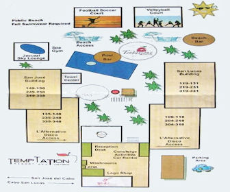 Royal Decameron Los Cabos Resort Map Layout