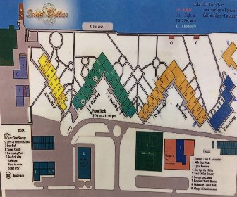 Sand Dollar Condominiums Map layout