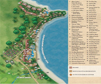 Sandals La Toc Resort Map Layout