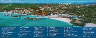Sandals Ochi Beach Resort Layout