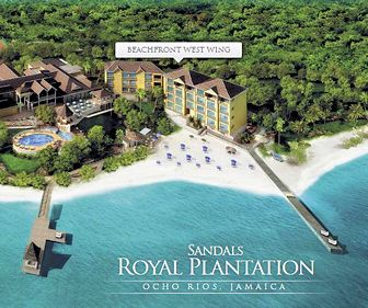 Sandals Royal Plantation Resort Map Layout
