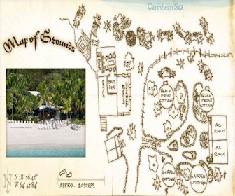 Sandcastle Hotel Map Layout