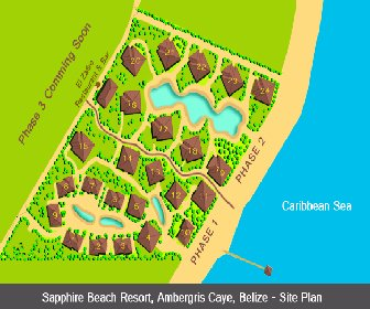 Sapphire Beach Resort Map Layout