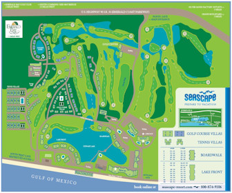 Seascape Resort Map Layout