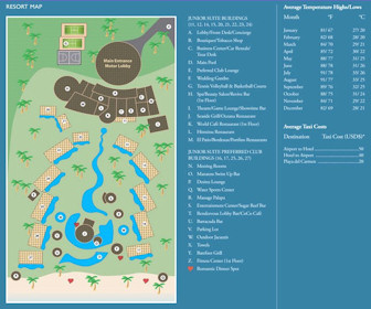 Secrets Maroma Resort Map Layout