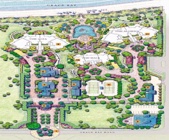 Seven Stars Resort Map Layout