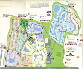 Sheraton Vistana Resort Villas Map Layout