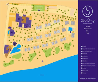 Le Sivory Punta Cana By PortBlue Boutique Resort Map Layout