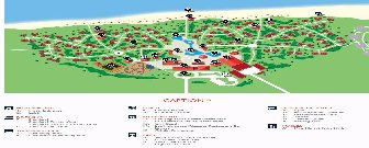 Sol Cayo Santa Maria Resort Map Layout