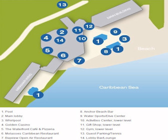 Sonesta Great Bay Resort Map Layout