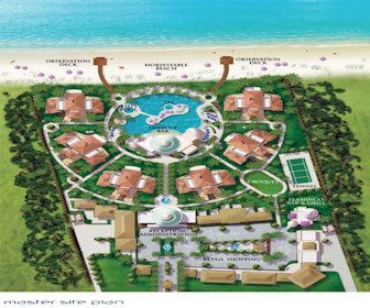 St.Charles North Caicos Resort Map Layout