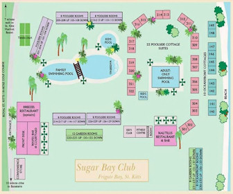 Sugar Bay Club Resort Map Layout