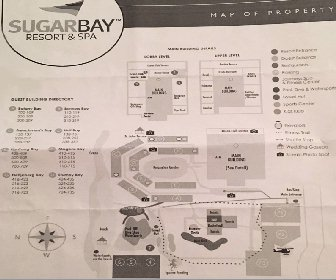 Sugar Bay Resort & Spa Map Layout