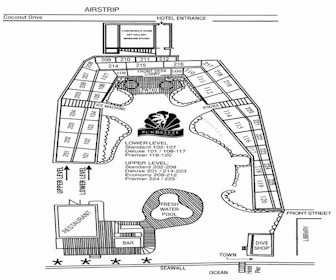 Sunbreeze Hotel Resort Map Layout