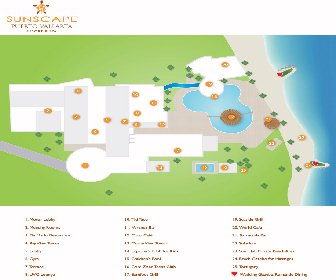 Sunscape Puerto Vallarta Resort Map Layout