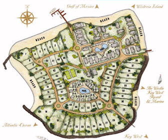 Sunset Key Guest Cottages, A Westin Resort Map Layout
