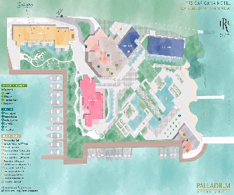 TRS Cap Cana Resort Map Layout