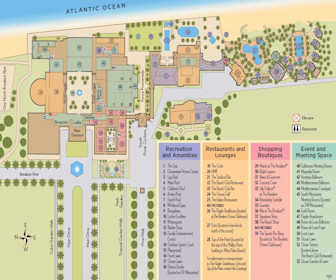 The Breakers Resort Map Layout