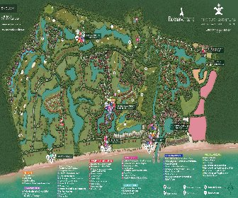 The Buenaventura Golf & Beach Resort Panama Resort Map Layout