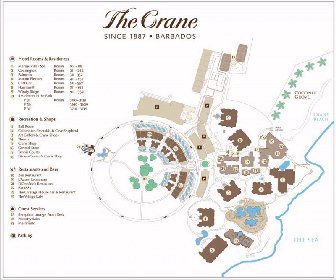 The Crane Resort Map Layout