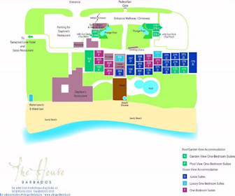 The House Resort Map Layout