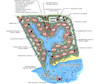 The Landings St Lucia Resort Map Layout